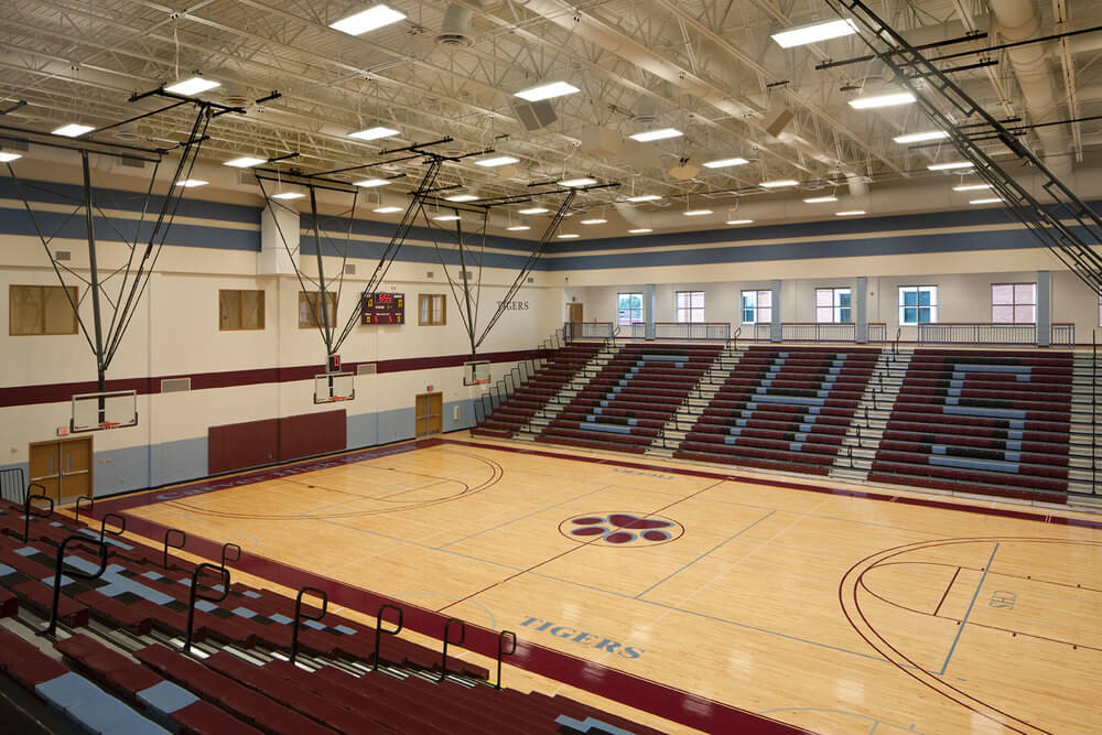 Carver HS Basketball Court