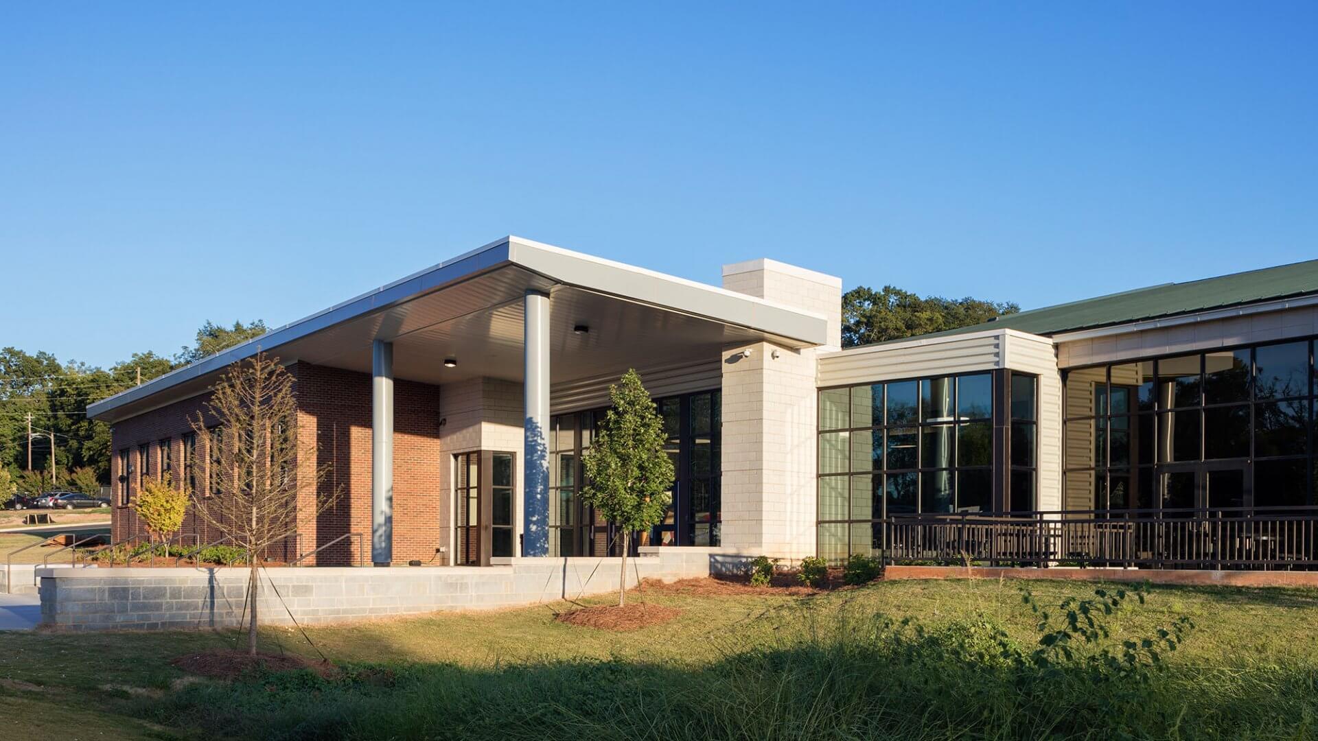 Clark Central High School Exterior